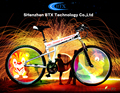 New Arrival Outdoor Night Colorful Bicycle 416 led Bike Wheel Light