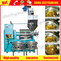 Automatically easy operate cold press oil machine for sale