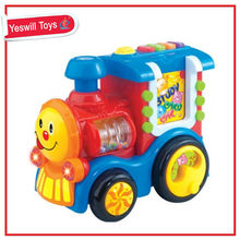 New product educational baby ride on car train with music
