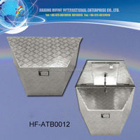 1.5mm silver aluminum tool box