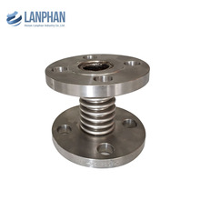 large diameter 304 stainless steel flanges expansion joint exhaust bellows