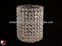 Crystal cup Candle Holder For Home Decoration
