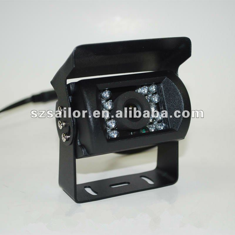 Waterproof CCD sensor truck camera system with IR night-vision