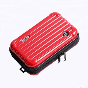2018 New Arrival Mini PC Hard Case Cosmetic Bag Fashion Makeup Travel Toiletry Bag