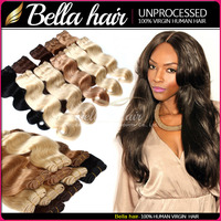 Factory Directly Unprocessed 100% Brazilian Human Hair , colored #22 #24 #60 #613human hair , Beyonce New Style Colored Hair