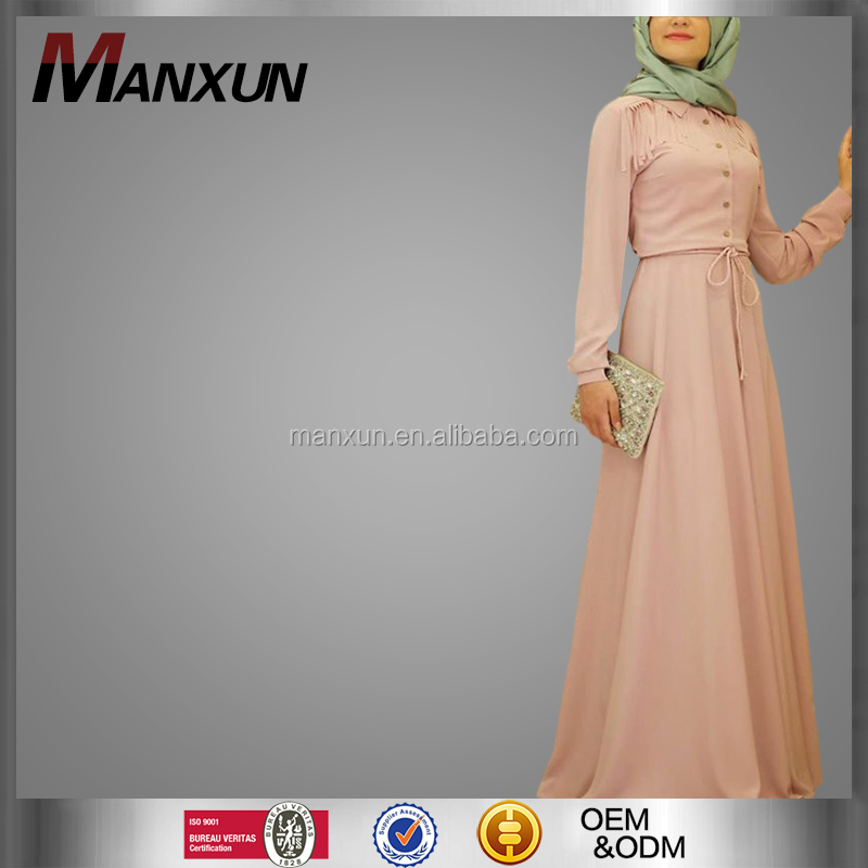 High Quality Muslim Long Dress Wholesale Abaya Turkey Dubai Women Abaya
