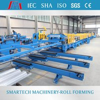 Full automatic high rib metal deck floor roll forming machine from China