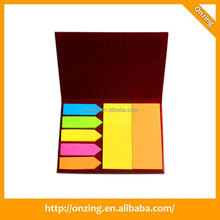 Onzing new oem expression face memo pad sticky note