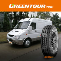 GREENTOUR GTR676 185R14C 195R14C radial passenger car tyres for light commercial