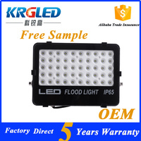 Free sample Factory IP66 Tunnel Light 50 watt 12 volt led flood light with 5 Years Warranty