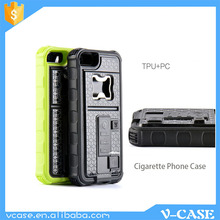 Professional Factory Cheap Wholesale factory direct USB charger cigarette mobile phone case with lighter for iPhone