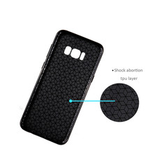 For samsung J520 tpu phone case,cell phone soft carbon fiber silicone case