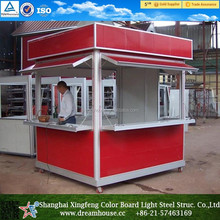 Prefab container coffer shop/mobile food kiosk for sale