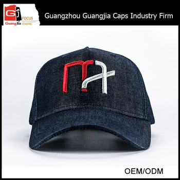 OEM Mix-Tone Cotton Baseball Cap Flaming Custom Logo Hat