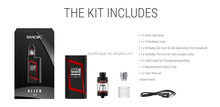 2017 hot Wholesale UK Smoktech Alien 220w mod kit in stock
