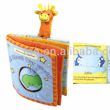 TOG Creative Baby Bed Time Reading Book Fabric Education Toy Infant Soft Cloth Book