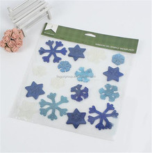 Jelly Gel Window Sticker Decoration Snowflake Gel Window Sticker