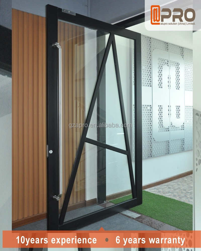 Commercial entry doors automatic tempered glass front door for Commercial entry doors