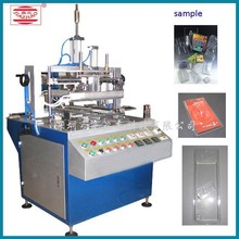 PVC Blister Three edges Flanging machine for Card insert packaging