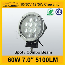 Truck driving light 12/24V Driving On Truck,Jeep, Atv, 4WD, Boat, Mining LED Driving Light