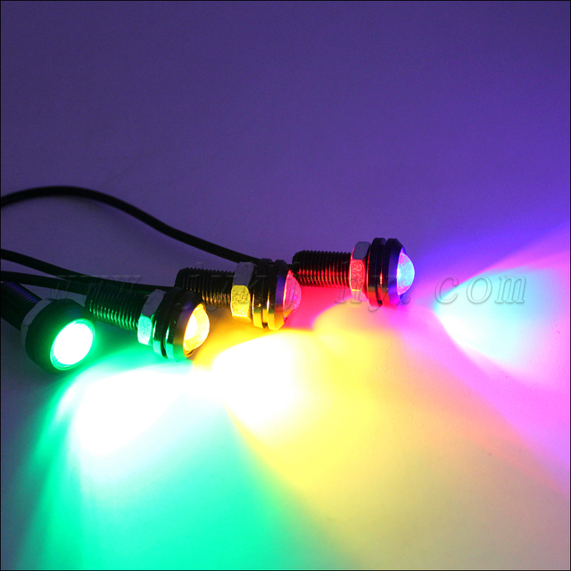 High Power LED Larger Lens Ultra-thin 3w Eagle Eyes For Car Lighting 10-30v slim Eagle Eyes Auto Lamps drl light