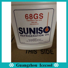 3.78L White bottle Synthetic Suniso refrigeration compressor oil 68GS