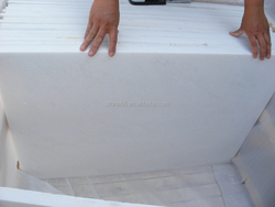 Hot Sale! China factory full polished white marbles tiles for floor/wall
