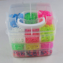 plastic-box loom bands,loom bands in plastic box