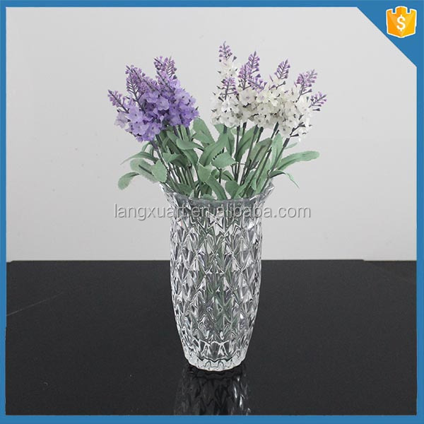 home decor different types glass vase for wedding gift