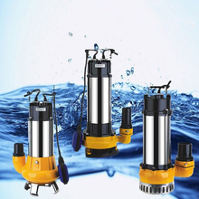 v1100df sewage pump for Dirty Water Treatment discharge sewage submerged pump