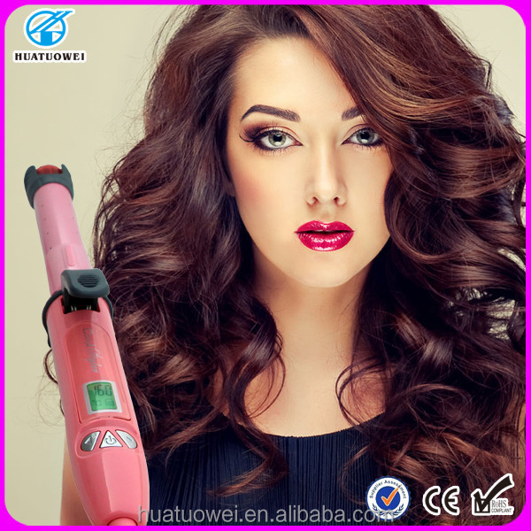 Pro steam LCD hair wave making machine curlers as seen on tv 2015