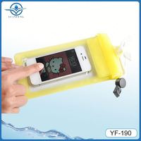 New product tempered glass waterproof case for iphone 5