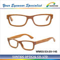 2014 new style Zebra wooden glasses frame (WM03)