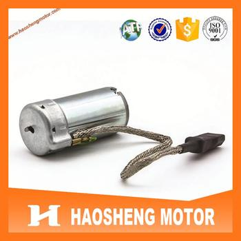 High quality TS16949 approval RH-487SD2548 12V DC Motor for BMW 7series back massage system.