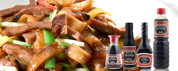 Fermented dark soy sauce for catering 1.86L