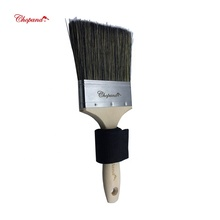 2019 New Design Chopand birch handle and stainless steel ferrule paint <strong>brush</strong> with Free hand belt