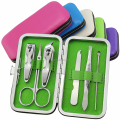Colorful 6pcs manicure set pedicure set