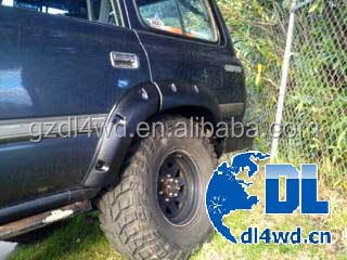4wd OEM manufacturer wheel arch fender flare for toyota land cruiser 80