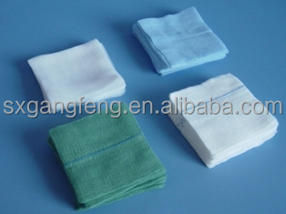 Medical Gauze Sponges/gauze swabs, 100% cotton, non sterile