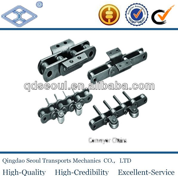 oem special industrial engineering mill palm oil long pitch steel heavy duty conveyor lifting roller chain