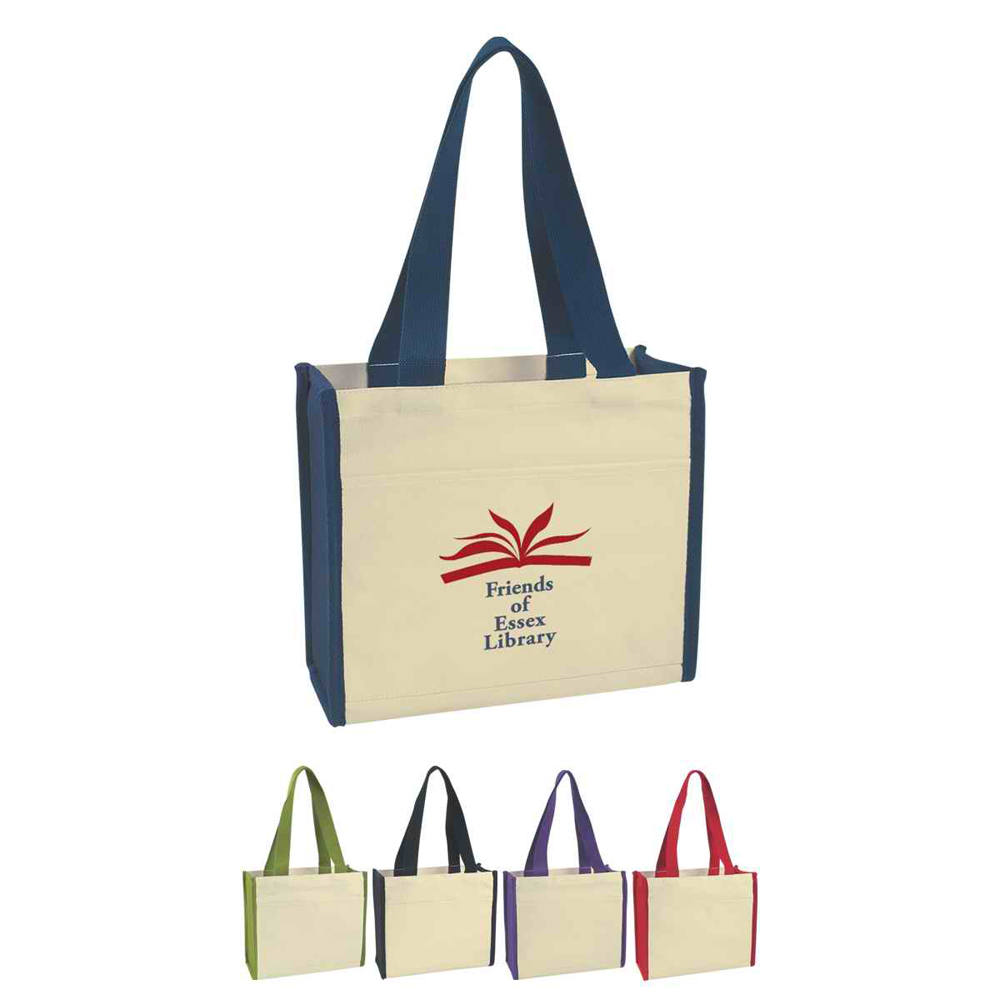 wholesale cheap fashion tote shopping cotton bags with logo