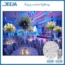 Multicolor <strong>wedding</strong> table decoration LED light base centerpiece for <strong>wedding</strong>/party materials