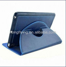 360 degree Rotating Stand Leather Smart Case for iPad Mini, with Wake/Sleep Functions