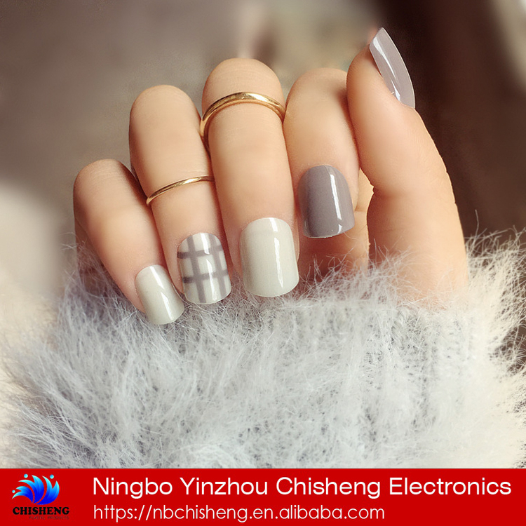 Artificial fingernails full cover fake nail tips