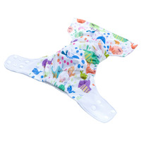 Wholesale Baby Cloth Nappy Covers One Size Elastic Tab Pocket Diaper