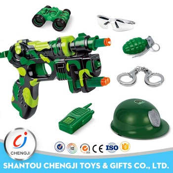 High quality wholesale plastic stunt gun military