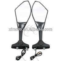 Motorcycle LED Turn Signal rear Mirrors For Honda CBR150R 2011 CBR250R MC19 MC22 Brand New