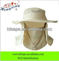 2013 fashion protect face fishing hat