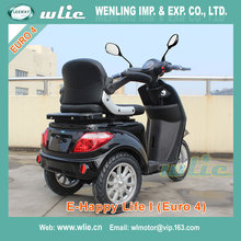 Factory sale battery 72v20ah bajaj pulsar 150cc price photo 800W 3 wheel Electric Scooter with Euro 4 EEC COC (E-Happy Life I)