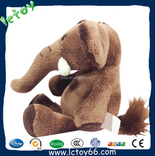 Shenzhen elephant baby plush toys lovely for girl